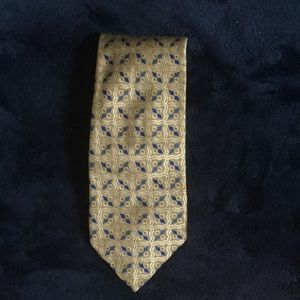 Blue and yellow Nordstrom tie